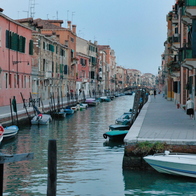 """Rio di San Girolamo #1"" stock image"