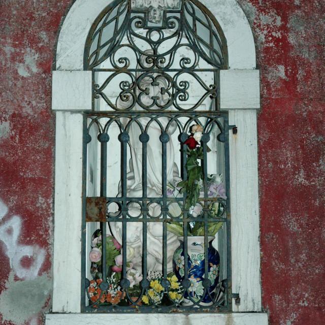 """Wall shrine"" stock image"
