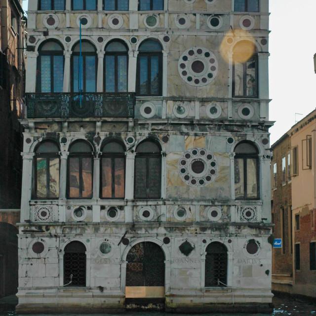 """Palazzo Dario"" stock image"