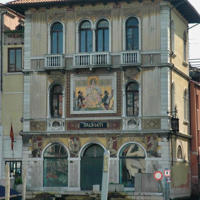 """Palazzo Salviati"" stock image"
