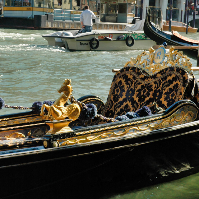"""Gondola detail"" stock image"