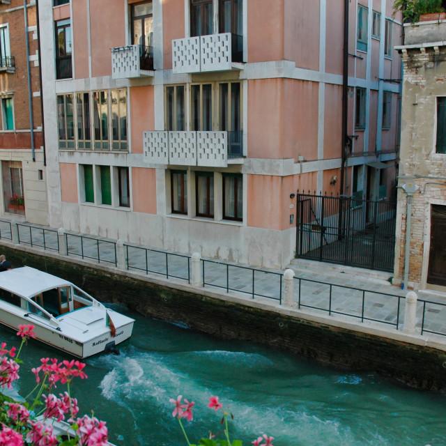 """""""Rio della Fornace"""" stock image"""