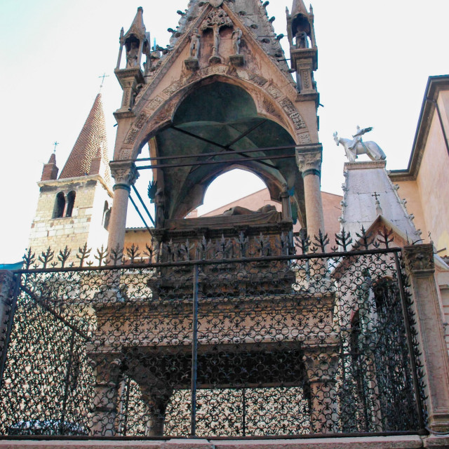 """Scaligeri tomb"" stock image"