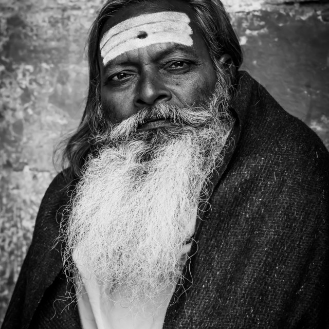 """Baba , Varanasi, India"" stock image"