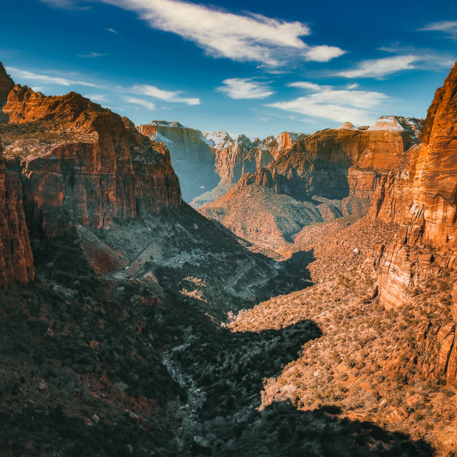 """Zion National Park - Utah"" stock image"