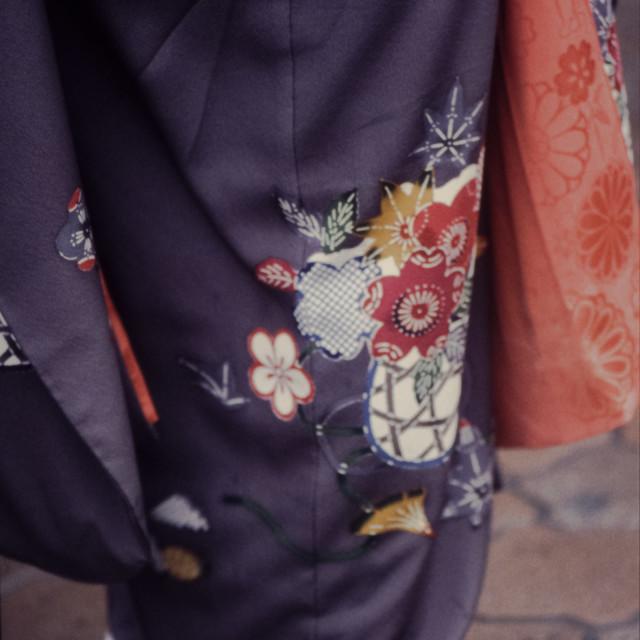 """""""Kimono detail"""" stock image"""
