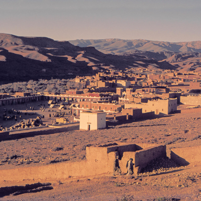 """Oarzarzate, Morocco"" stock image"
