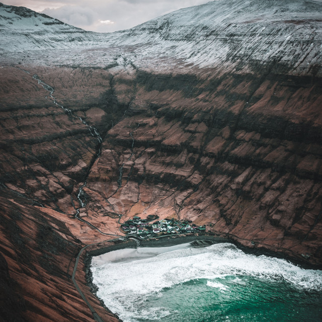 """Tjornuvik, Faroe Islands"" stock image"