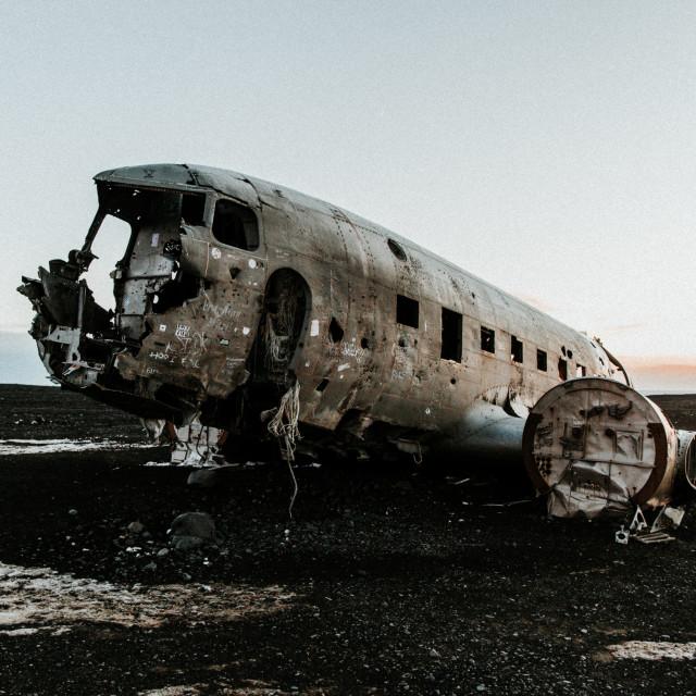 """Plane Wreck 2"" stock image"