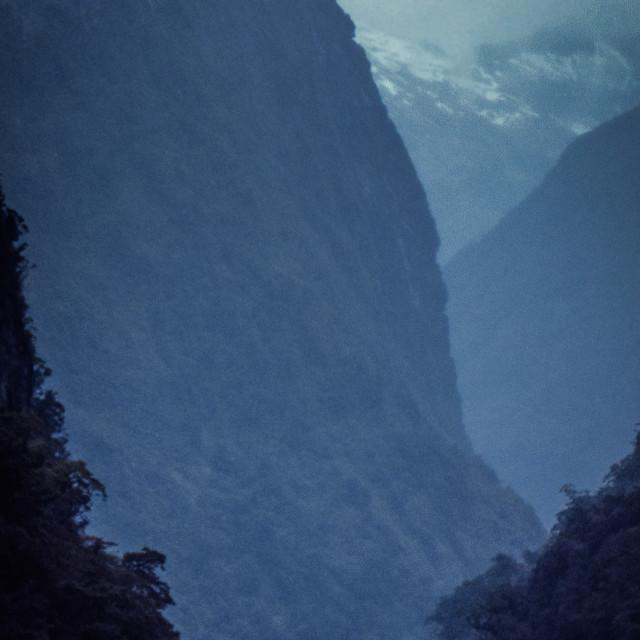 """Doubtful Sound, New Zealand"" stock image"