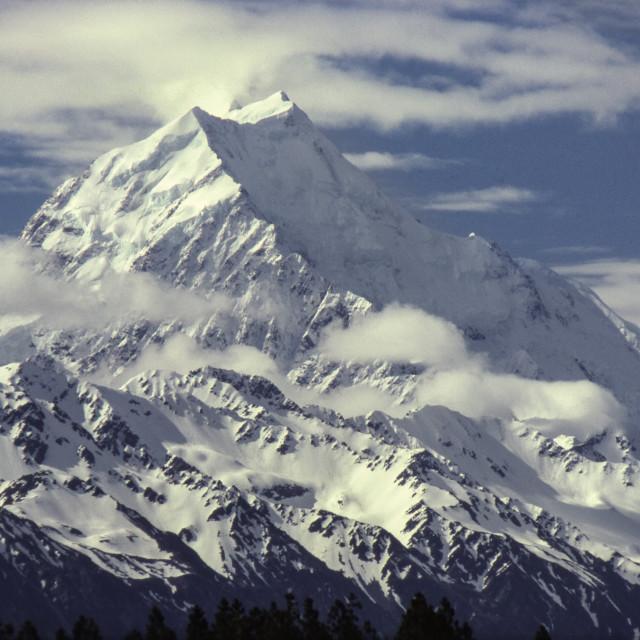 """Mt. Cook (Aoraki)"" stock image"