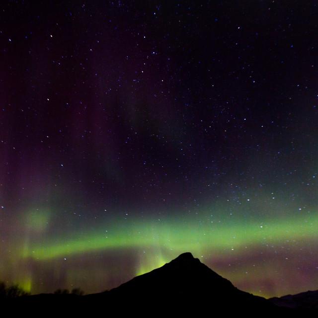 """""""Northern Lights 2"""" stock image"""