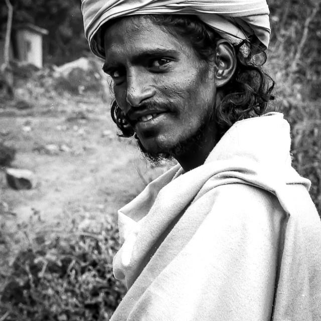 """Young Baba, Rishikesh, India"" stock image"