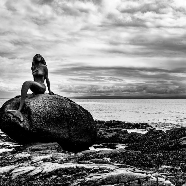 """""""Mermaid of the North"""" stock image"""