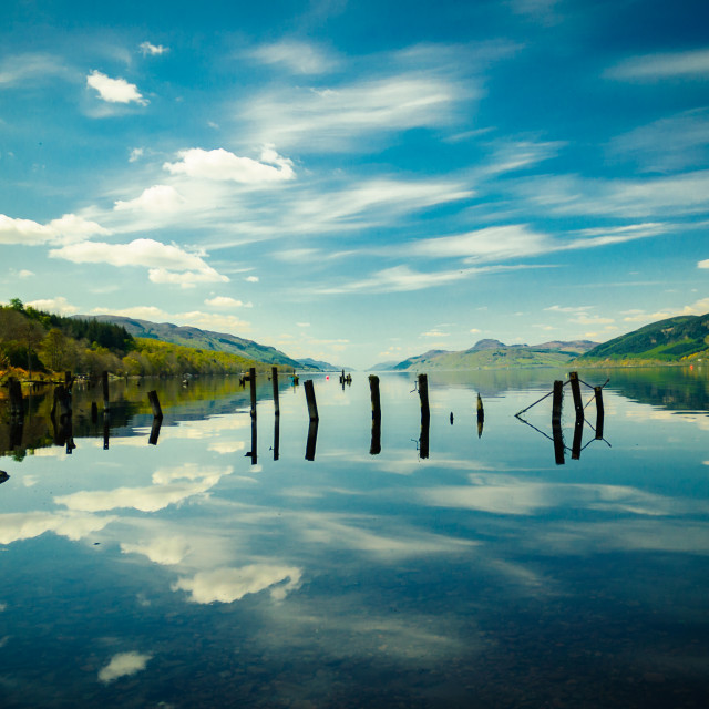 """Loch Ness"" stock image"