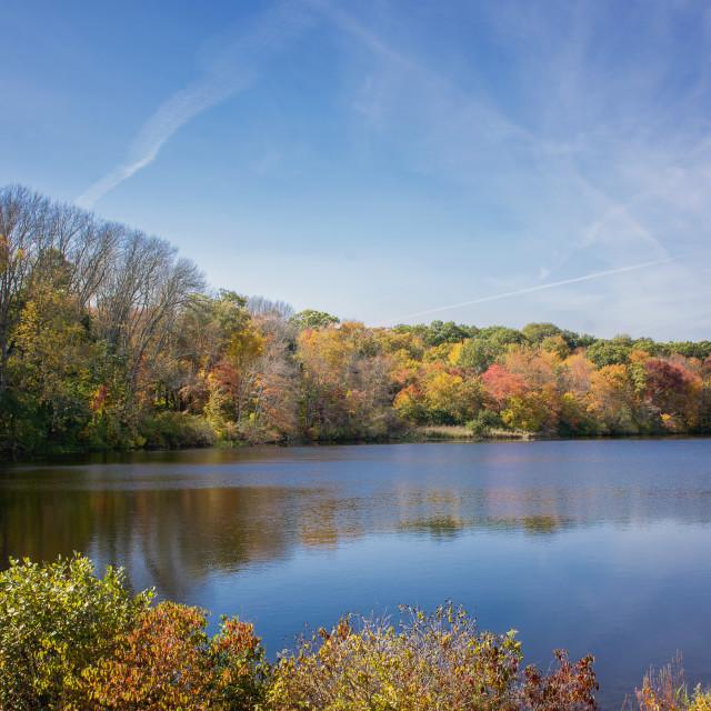 """""""New England Fall"""" stock image"""