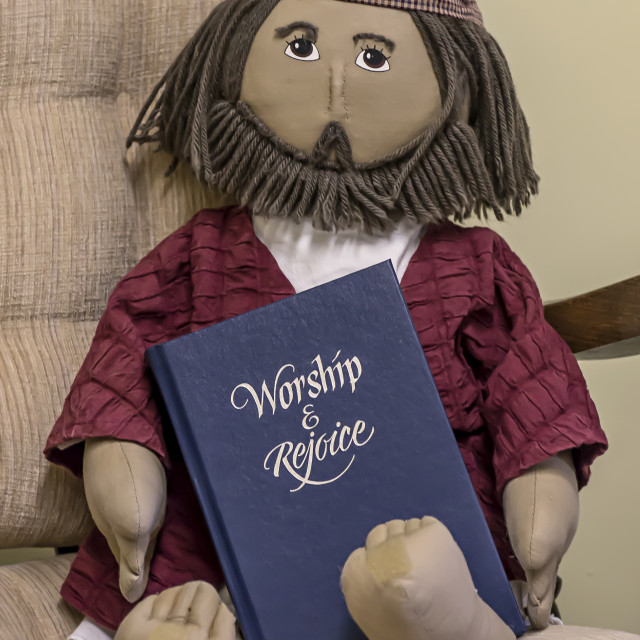 """""""Worship and Rejoice"""" stock image"""