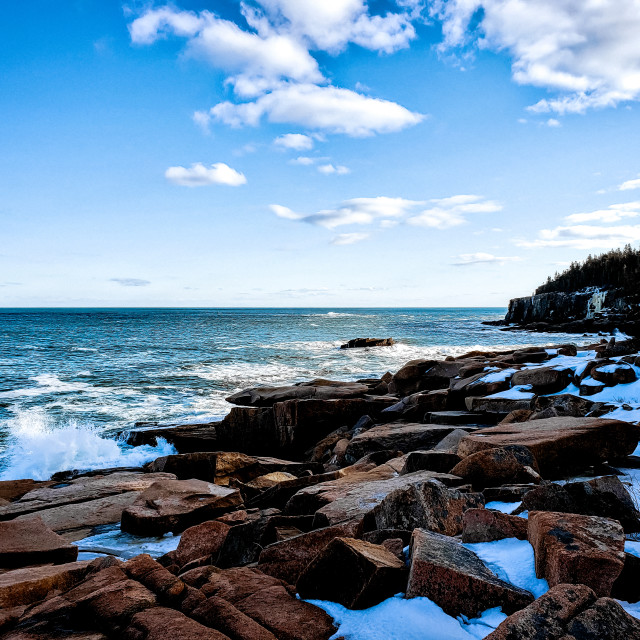 """Acadia National Park"" stock image"