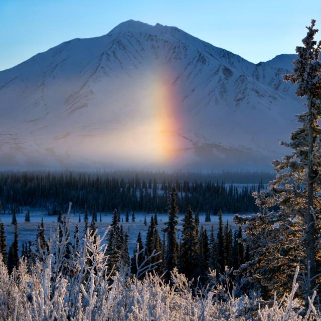 """Frozen Rainbow"" stock image"