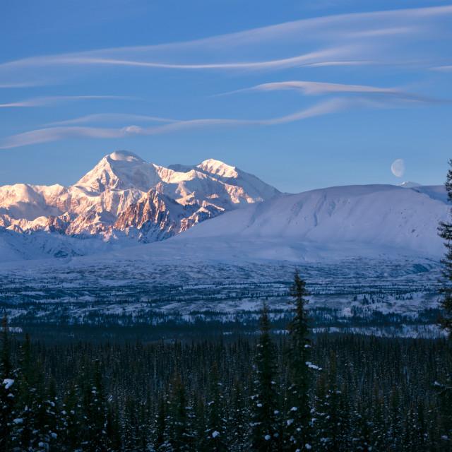 """My Favorite Mountain"" stock image"