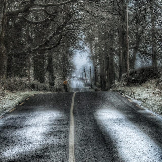"""""""Road home"""" stock image"""