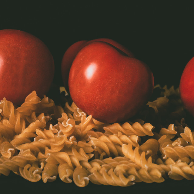 """""""Tomatoes and Pasta"""" stock image"""