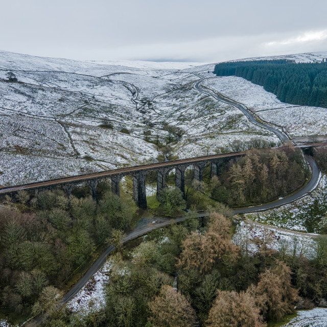 """Dent Head Viaduct."" stock image"