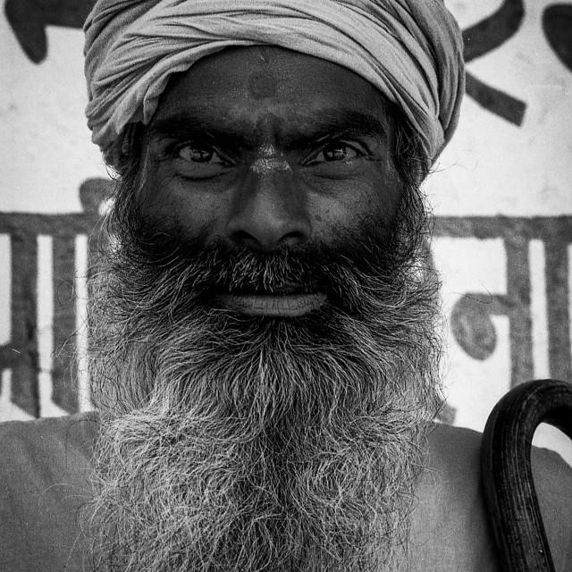 """""""Baba, Rishikesh, India"""" stock image"""
