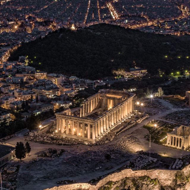 """Acropolis of Athens"" stock image"