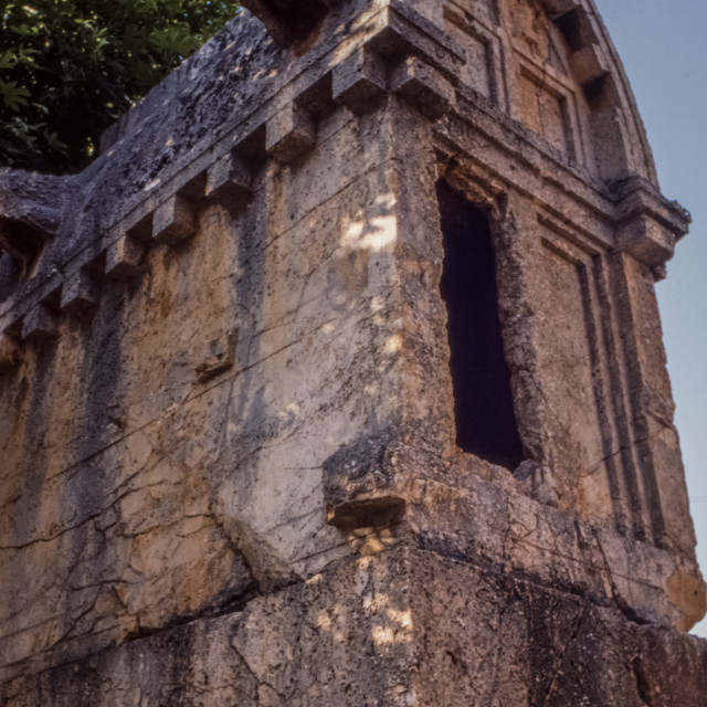 """Lycian Tomb"" stock image"