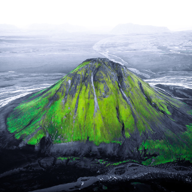 """""""Mælifell mountain"""" stock image"""