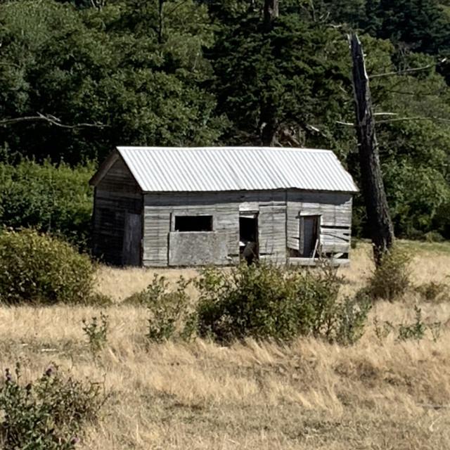 """Old shack #6"" stock image"