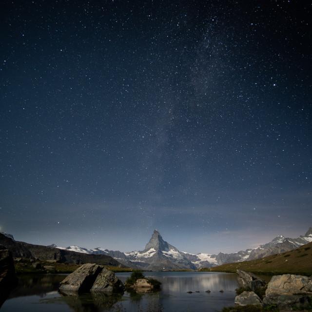 """""""Matterhorn II"""" stock image"""