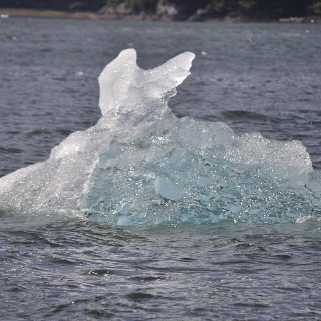 """Iceberg closeup"" stock image"