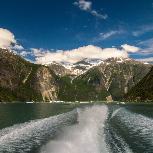 """Tracy Arm Fjord, Alaska"" stock image"