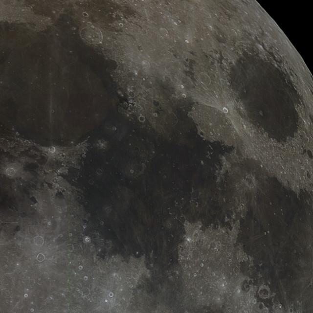 """Lunar Maria"" stock image"