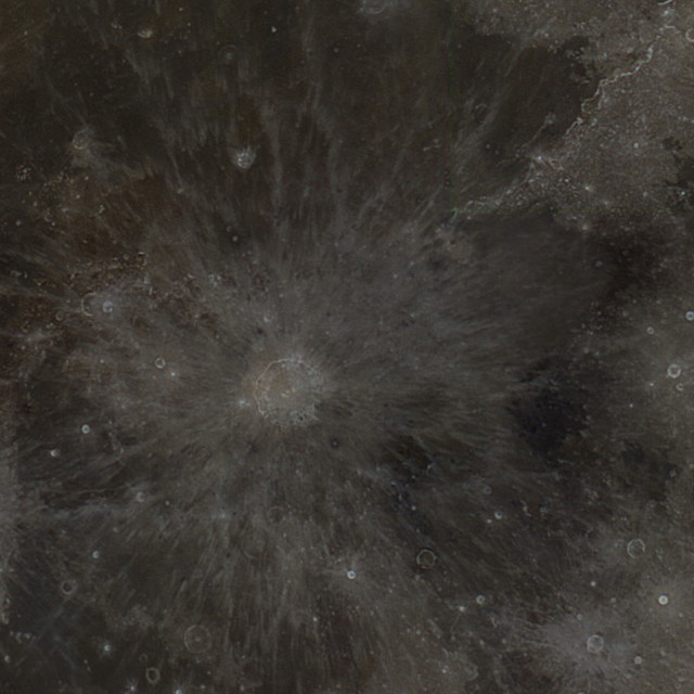 """Copernicus Crater"" stock image"