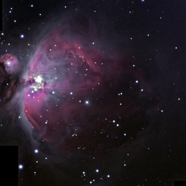 """Messier 42 Mosaic"" stock image"