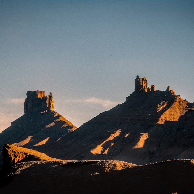 """""""Buttes, Fisher Valley, Utah"""" stock image"""