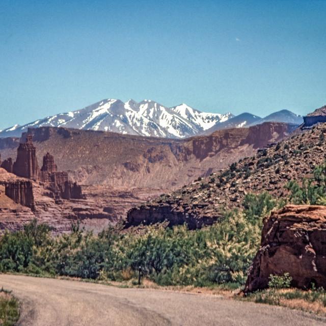 """Fisher Valley, Utah"" stock image"