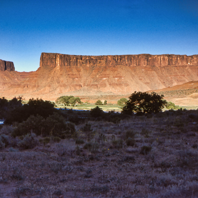 """""""Fisher Mesa, Utah"""" stock image"""