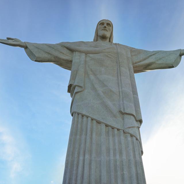 """Christ the Redeemer, Rio de Janeiro, Brazil"" stock image"