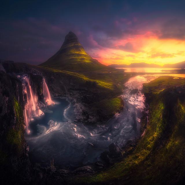 """Magical Mountain"" stock image"