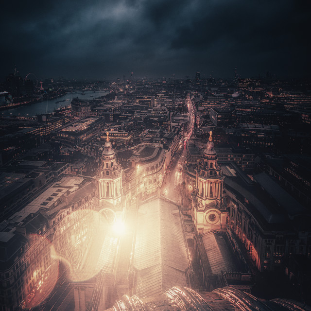 """""""A Light in Darkness"""" stock image"""