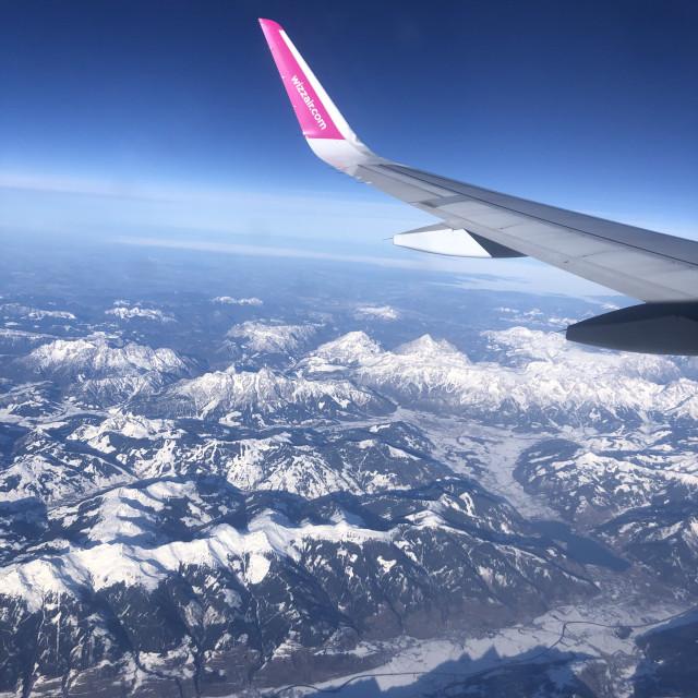 """Ski view"" stock image"