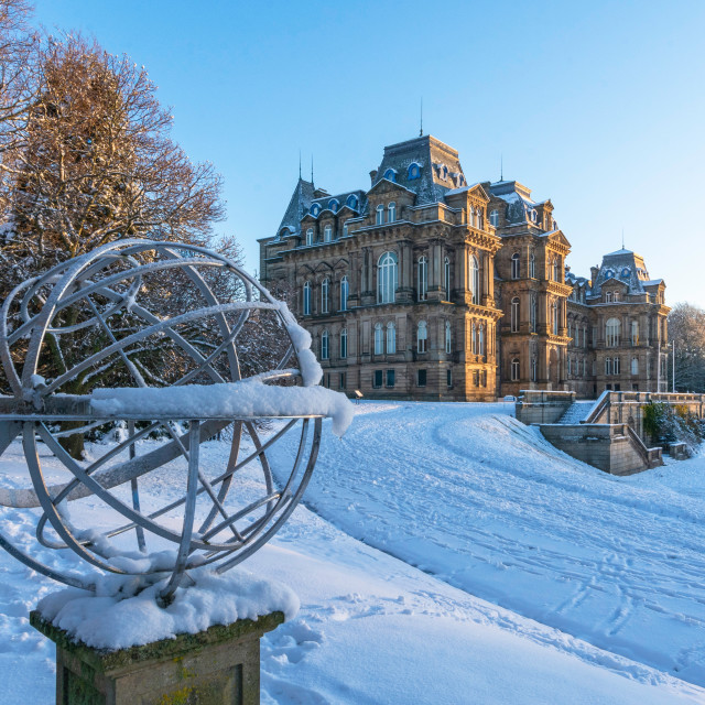 """""""The armillary sphere, Bowes Museum"""" stock image"""
