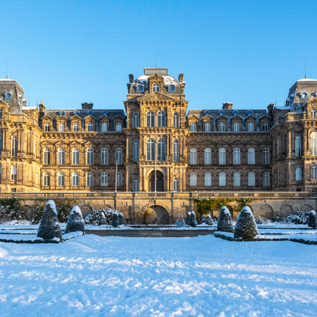 """""""The Bowes Museum"""" stock image"""
