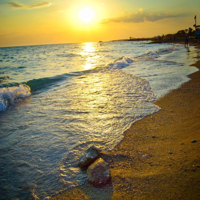 """Turkish Sunset"" stock image"