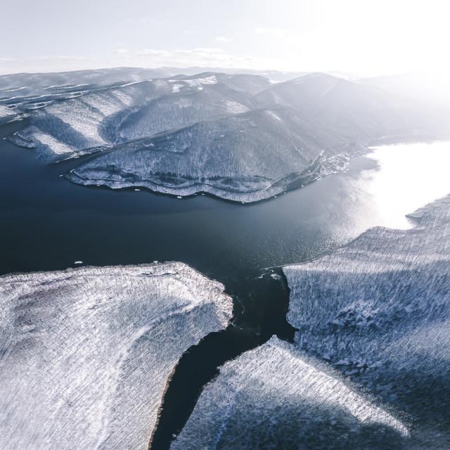 """Lake Tarnita"" stock image"