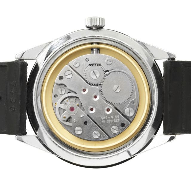 """Mortima mechanical watch"" stock image"